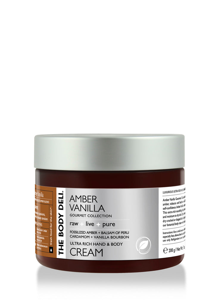 Amber Vanilla Hand & Body Cream