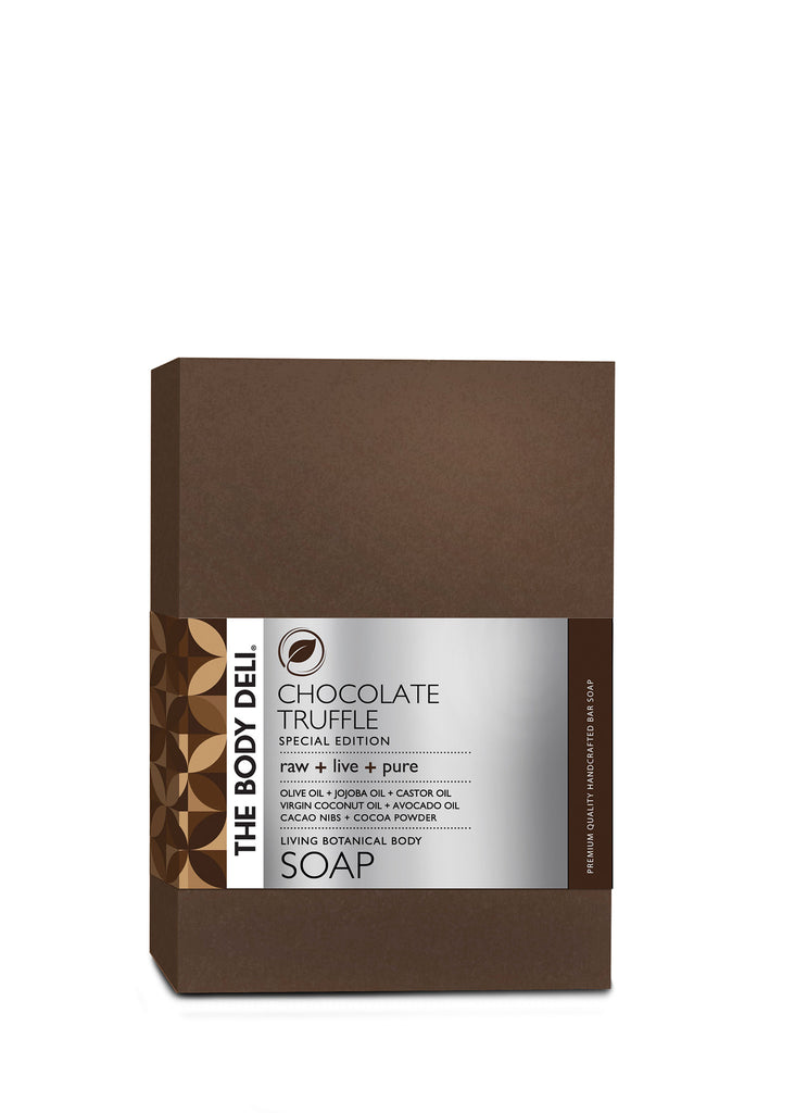 Chocolate Truffle Botanical Bar Soap