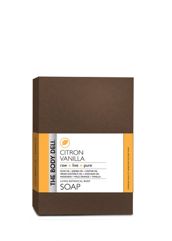 Citron Vanilla Botanical Bar Soap