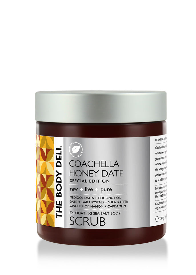 Coachella Honey Date Scrub