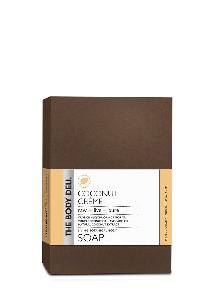 Coconut Créme Botanical Bar Soap