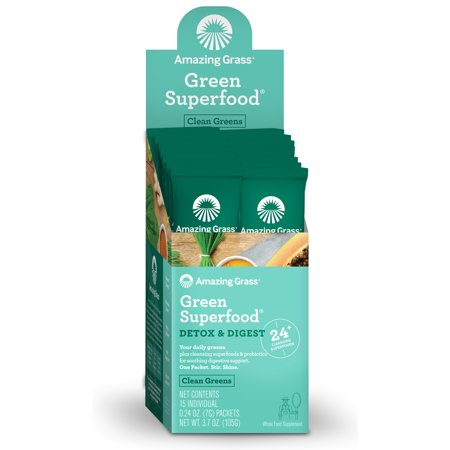 Green SuperFood Detox & Digest Amazing Grass Single Packet