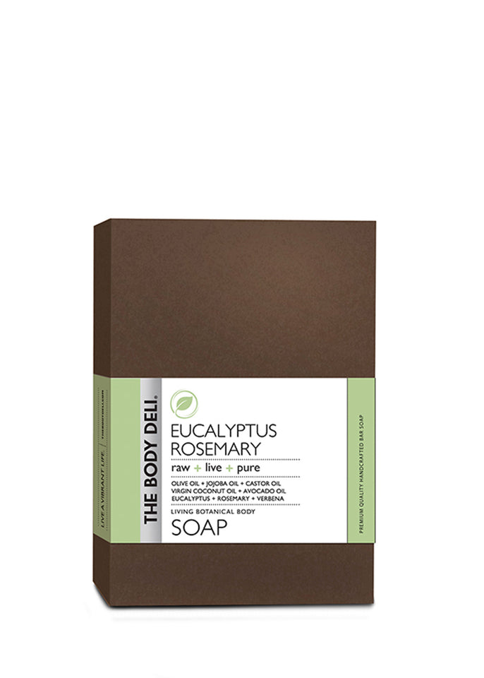 Eucalyptus Rosemary Botanical Bar Soap