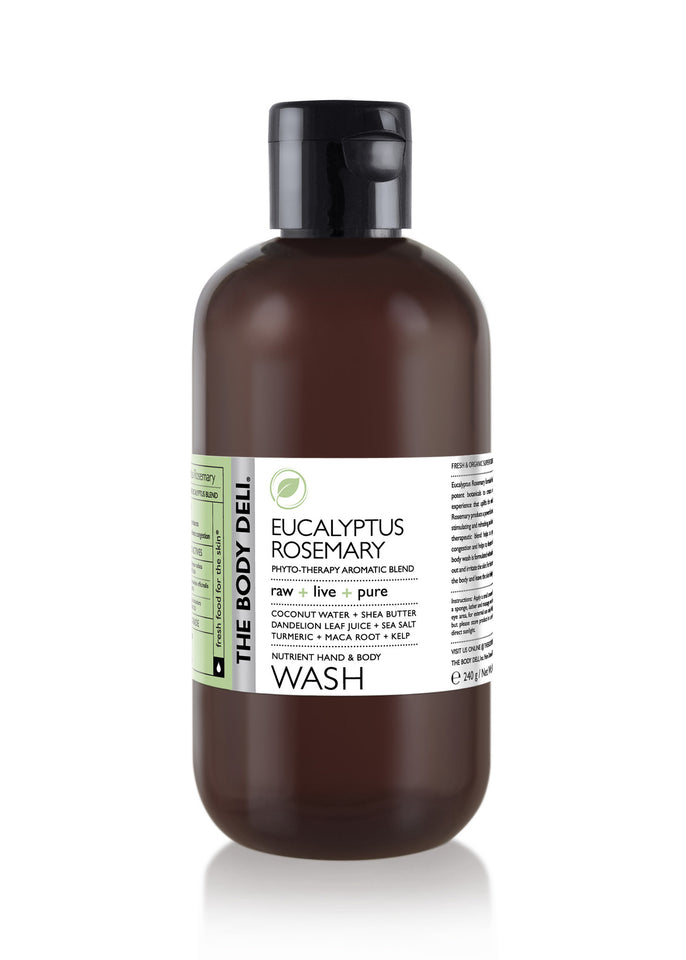 Eucalyptus Rosemary Hand & Body Wash