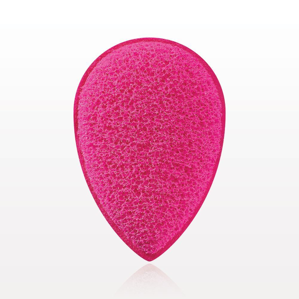Facial Exfoliating Sponge Super Pink