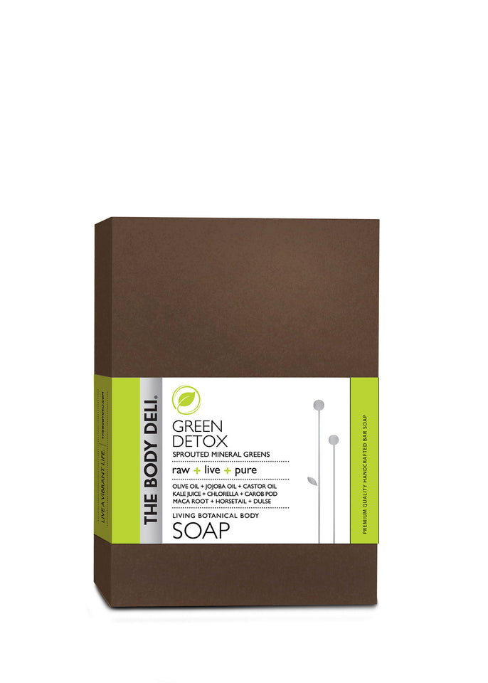 Green Detox Botanical Bar Soap