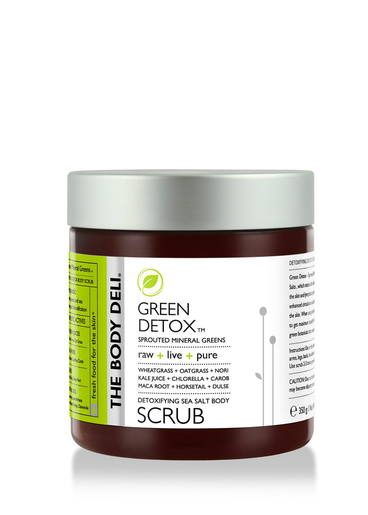 Green Detox Sea Salt Body Scrub