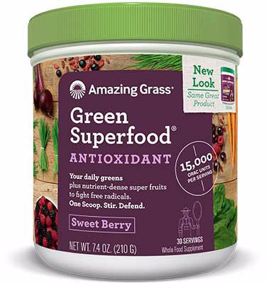 ORAC Antioxidant Boost Green Superfood Powder 30 Servings