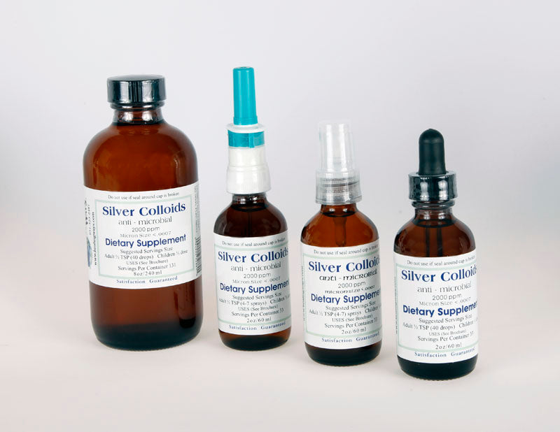 Silver Colloids Healing Ways Colloidal Silver