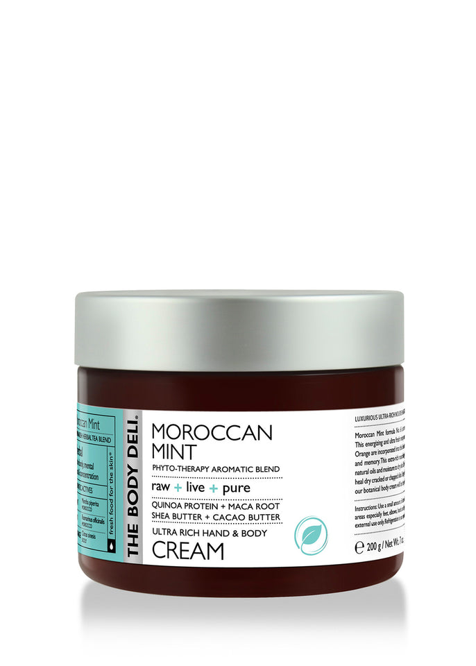 Moroccan Mint Hand & Body Cream