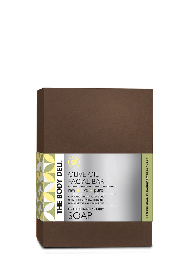 Pure Olive Oil Botanical Face Bar Soap