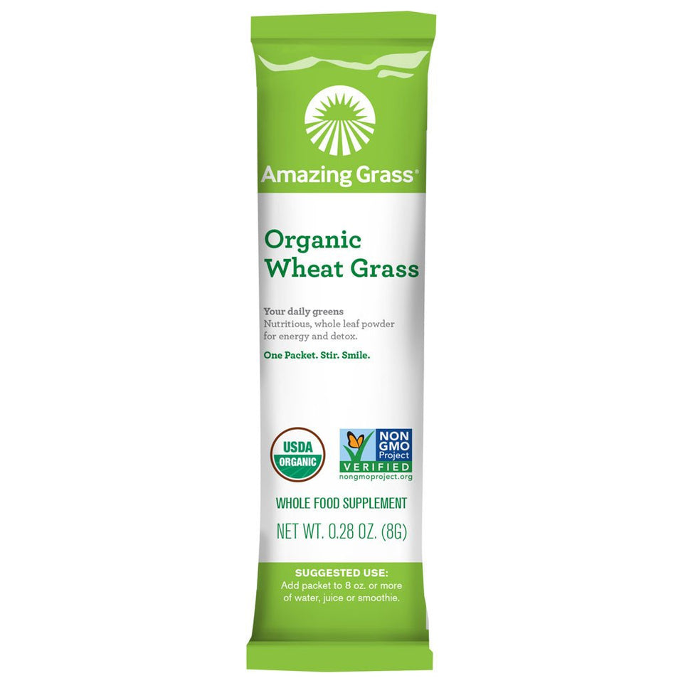 Organic Wheat Grass Powder Single Packet