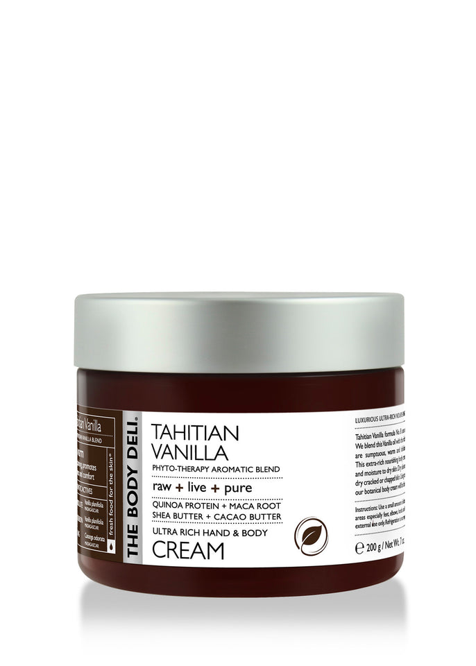 Tahitian Vanilla Hand & Body Cream