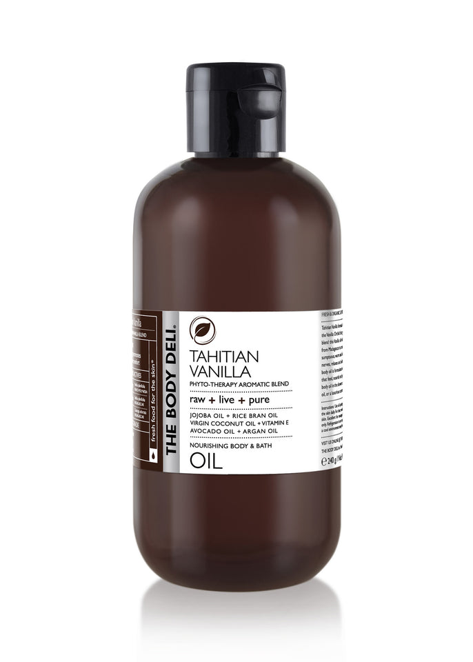 Tahitian Vanilla Body Oil