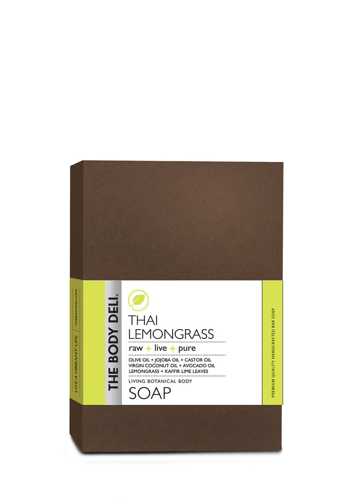 Thai Lemongrass Botanical Bar Soap