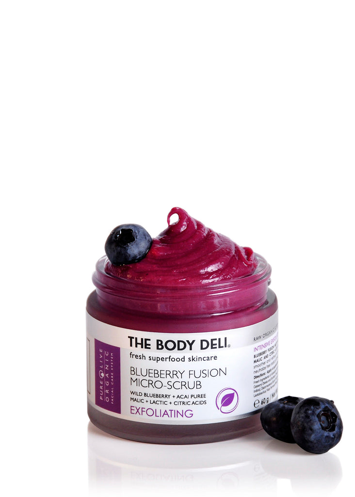BLUEBERRY FUSION SCRUB (exfoliating)