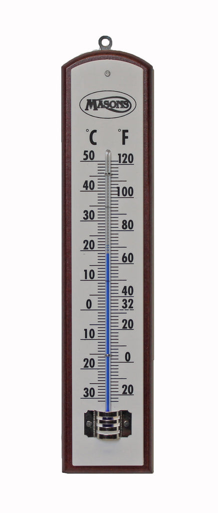 Cellar Thermometer Wooden | Masons