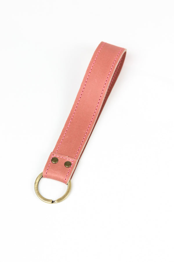 Limited Edition: Pink Leather Wristlet