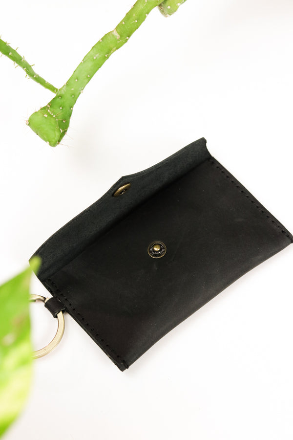 Black Envelope ID Wallet