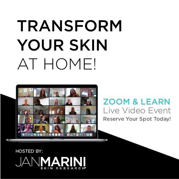 Virtual Jan Marini Spring Skin Care Event