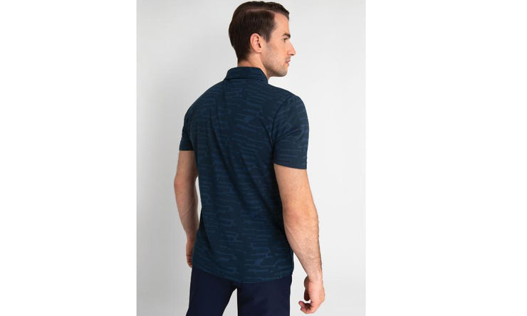 Calvin Klein Golf  Aztec Polo Navy