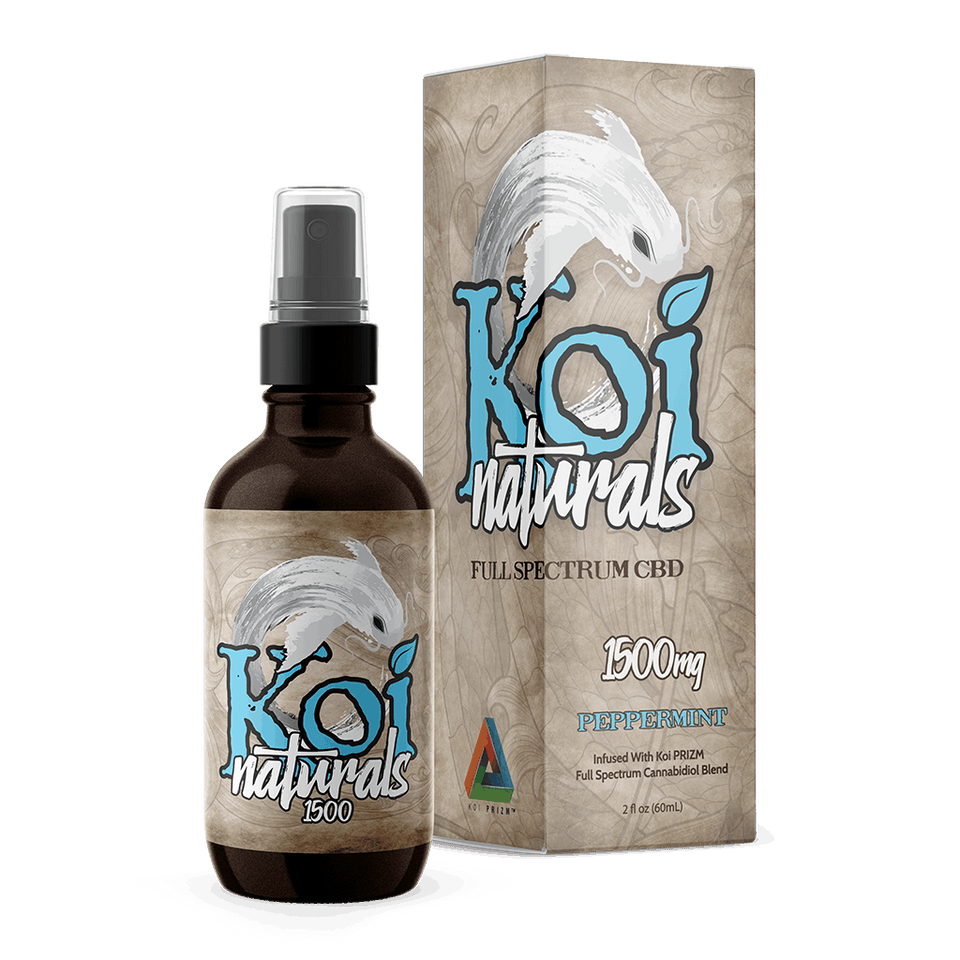 Koi Naturals Hemp Extract Spray | Peppermint - Extending the Branch