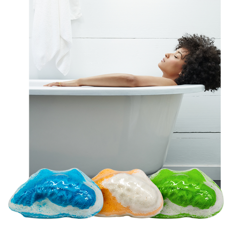 Koi Hemp Extract CBD Bath Bombs - Extending the Branch