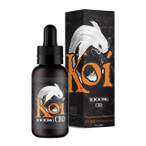 Koi Hemp Extract Vape Juice | Flavorless Koi White - Extending the Branch