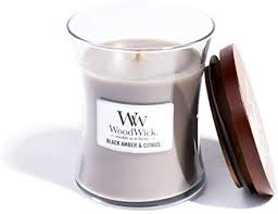 WoodWick Black Amber & Citrus Medium Jar - extending-the-branch.myshopify.com