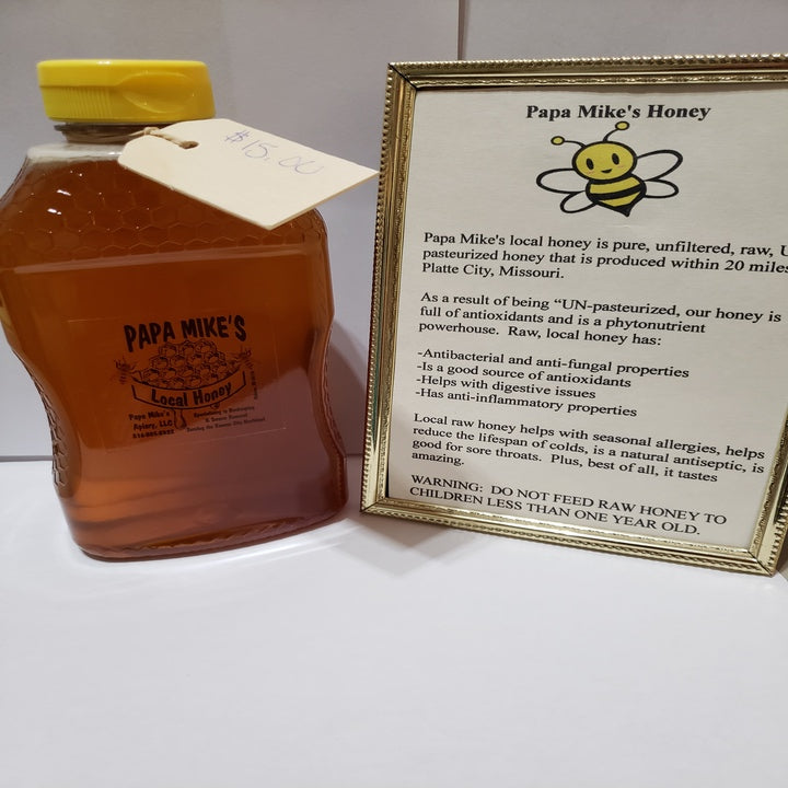 Papa Mike's Local Honey Large - Extending the Branch