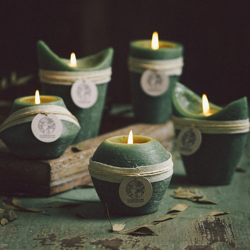 Green Tea Scented Candles - Extending the Branch