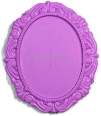 12 Resin Frame Setting Bezel Victorian Style fit 40x30 cameo PURPLE 12.5