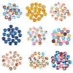 FREE SAMPLE LOT: While Supplies Lasts: 20Pcs Mixed Glass Cabochon For Christmas Decorations Cabochon Flatback Scrapbooking Embellishment Settings DIY Making Jewelry
