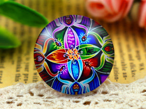 25mm New Fashion Photo Glass Cabochons
