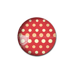 12mm 20mm 25mm 30mm Dotted DIY Handmade Round Glass Cabochon Dome Jewelry Finding Settings