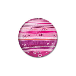12mm 20mm 25mm 30mm DIY Pink Pattern andmade Round Glass Cabochon Dome Jewelry Finding Settings