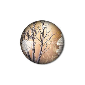 12mm 20mm 25mm 30mm Old Tree DIY Handmade Round Glass Cabochon Body Jewelry Finding Fit Cameo Blank Settings