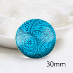12mm 20mm 25mm 30mm DIY Handmade Round Photos Glass Cabochon Body Jewelry Finding Fit Cameo Blank Settings