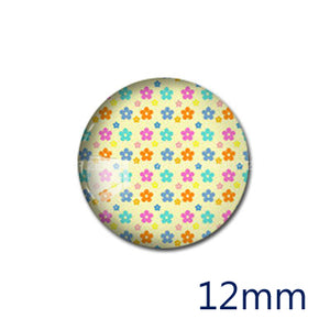 12mm 20mm 25mm 30mm DIY Star Handmade Round Glass Cabochon Body Jewelry Finding Fit Cameo Blank Settings