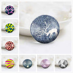 10mm 12mm 14mm 16mm 18mm 20mm 25mm 30mm Round Photos Glass Cabochon Jewelry Finding Fit Cameo Blank Settings
