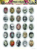 40x30, 18x25, 13X18 Resin Cameo LOW DOME Cabochon. Anatomy 3