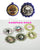 25pcs 25mm 1 inch Bottle Cap Resin Cameo Cabochon. Art 2 Lady Portrait