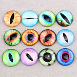 Mix Eye Glass Cabochon 8mm 10mm 12mm 14mm 16mm 18mm 20mm 25mm 30mm Jewelry Findings Accessories