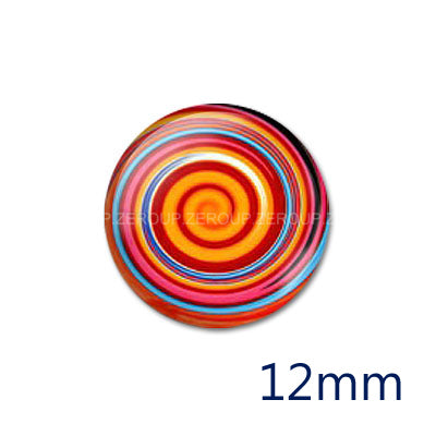 12mm 20mm 25mm 30mm DIY Handmade Round Photo Glass Cabochon Dome Jewelry Finding Settings