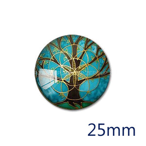 12mm 20mm 25mm 30mm DIY Handmade Round Glass Cabochon Body Jewelry Finding Fit Cameo Blank Settings