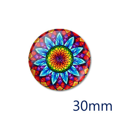 12mm 20mm 25mm 30mm DIY Round Glass Cabochon Body Jewelry Finding Fit Cameo Blank Settings