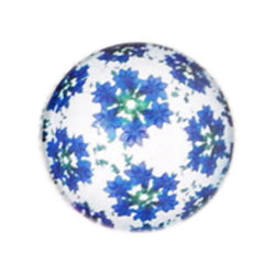 20mm Round Glass Cabochon Mixed Kaleidoscope Designs DIY Jewelry Accessories Cameo Finding Settings