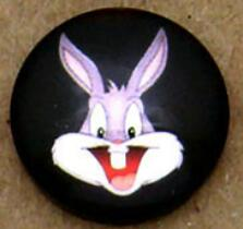 10mm 12mm 14mm 16mm Round Glass Cabochon Bugs Bunny Pictures Photo Dome DIY Handmade Cabochon Jewelry Fittings