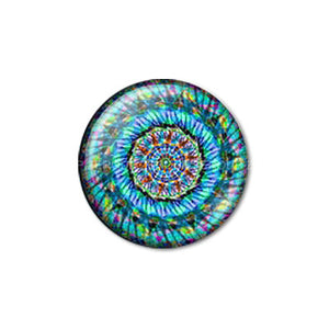10mm 12mm 14mm 16mm 18mm 20mm 25mm 30mm Colorful Art Round Glass Cabochon Jewelry Finding fit Cameo Blank Settings
