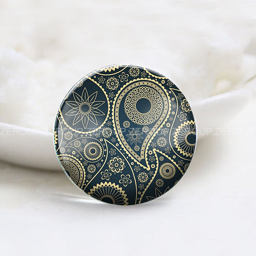 10mm 12mm 14mm 16mm 18mm 20mm 25mm 30mm Abstract Art Round Glass Cabochon Jewelry Finding Fit Cameo Blank Settings Supplies